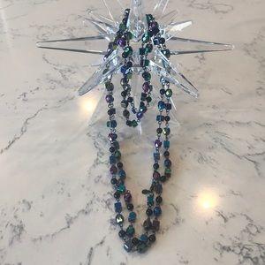 """Premier Design 30"""" necklace. Multiple metal tones."""